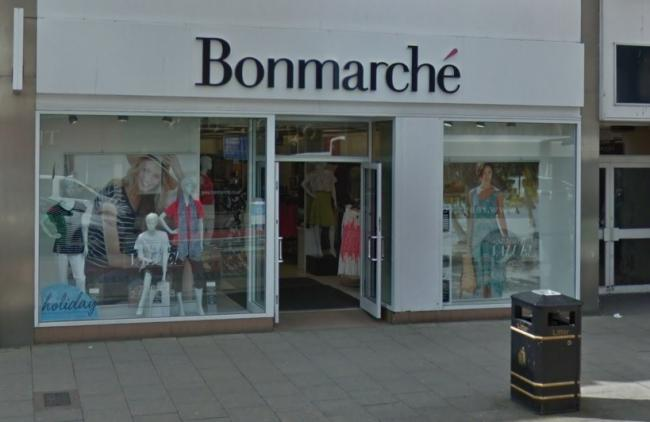 COLLAPSE: Retailler Bonmarche, which has stores in Carlisle (pictured) and Workington, has collapsed into administration, putting about 2,900 jobs at risk nationwide