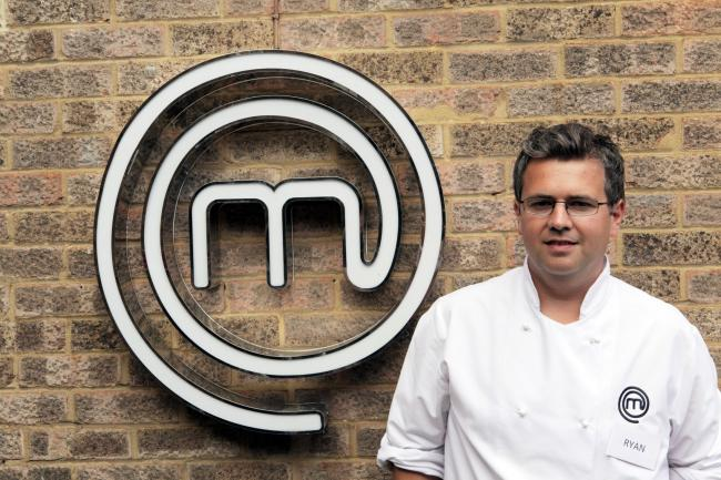 Ryan Blackburn. Credit: MasterChef: The Professionals, Tuesdays, Wednesdays and Thursdays, 8pm, BBC Two..