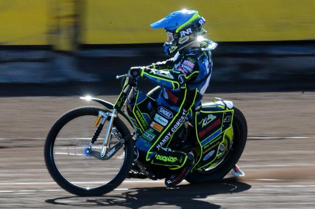 RISING STAR: West Cumbrian Kyle Bickley, pictured during his days at Workington Comets