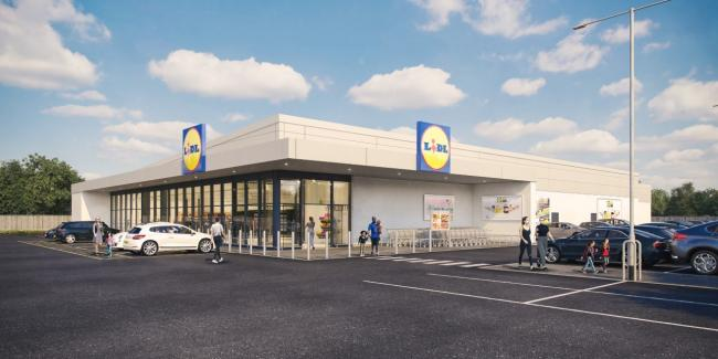 New store: Plans were unveiled to build Carlisle's second Lidl store on land beside Warwick Road back in October
