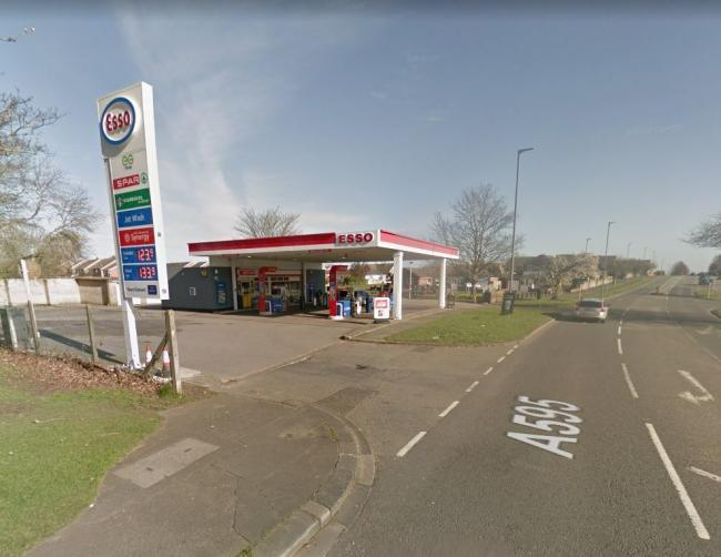 Morton Services, in Wigton Road, Carlisle, was the scene of a robbery in the early hours of Friday morning