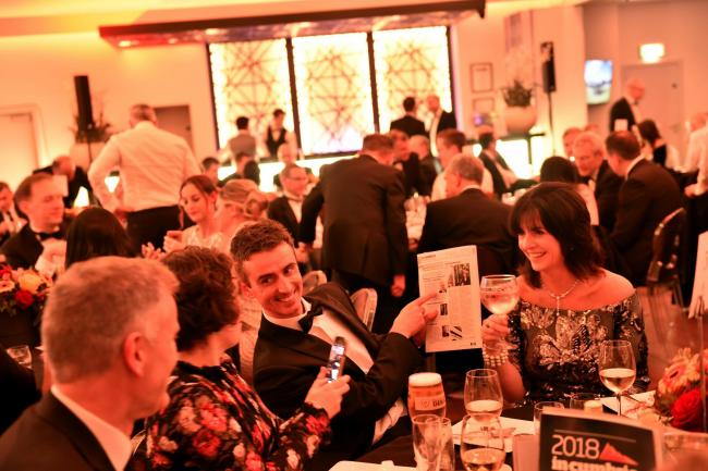 in-Cumbria Business Awards 2018 at the Halston in Carlisle
