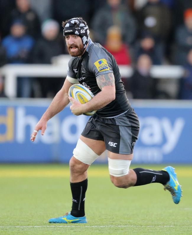 Gary Graham: The Cumbrian will start for Newcastle Falcons this weekend