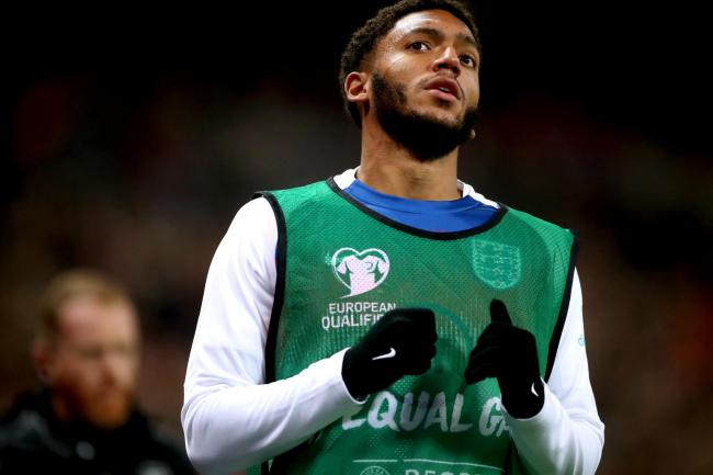 England's Joe Gomez has returned home after a difficult week