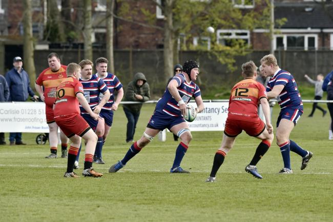 James Brocket: Was sin-binned in Carlisle Rugby Club's 38-7 defeat at Billingham (Photo: David Hollins)