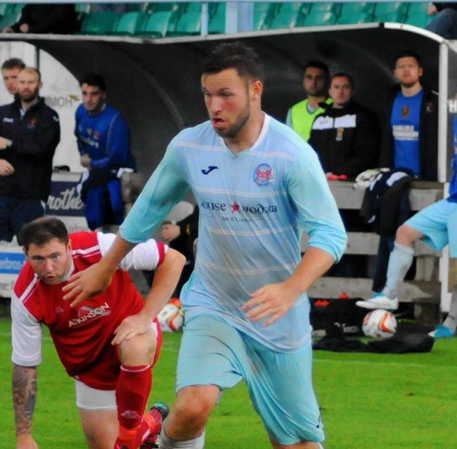 Rob McCartney: Netted for Carlisle City in their draw with second-placed Redcar Athletic last weekend (Photo: Jim Davis)