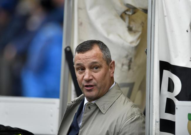 UP FOR A CHALLENGE: Carlisle United's director of football David Holdsworth	            Picture: Stuart Walker