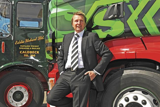 William Stobart – son of haulage company founder Eddie – has a key role to play in DBAY Advisors' proposals