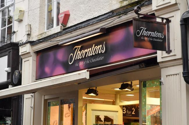 Closing down: Thorntons, on St Albans Row, will close