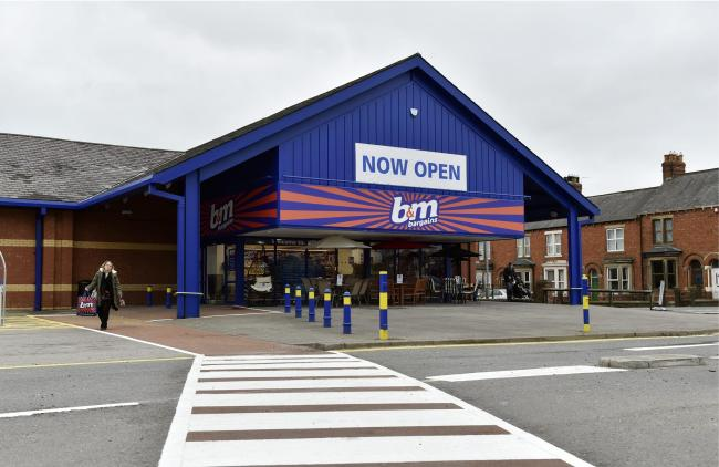 B&M Bargains store on Wigton Road in Carlisle