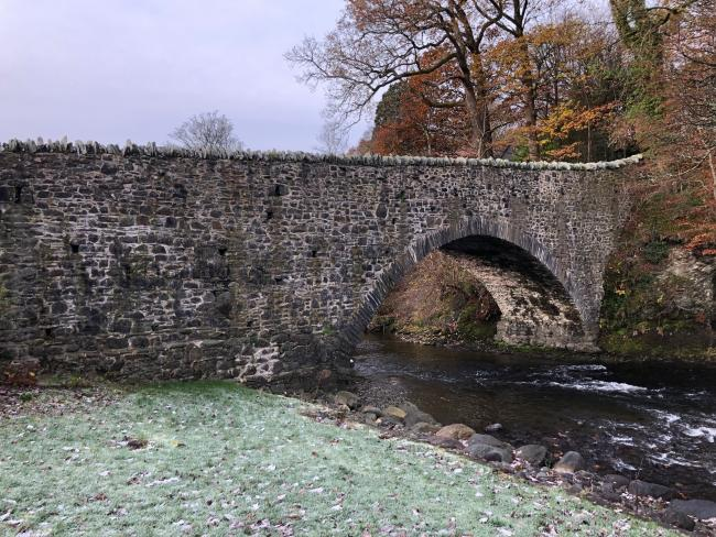 Calvert Bridge near Keswick is up for auction with a starting price of just ?1 (PHOTO: DEMOCRACY PR)
