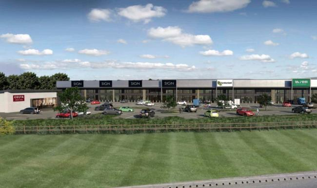 PLANS: The proposed Gateway 44 shopping development in Kingstown, Carlisle              Picture: Savills/Chancerygate