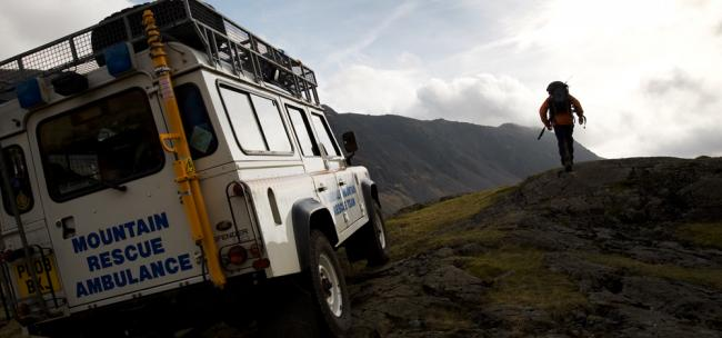 Wasdale Mountain Rescue Team generic for News & Star 999 page