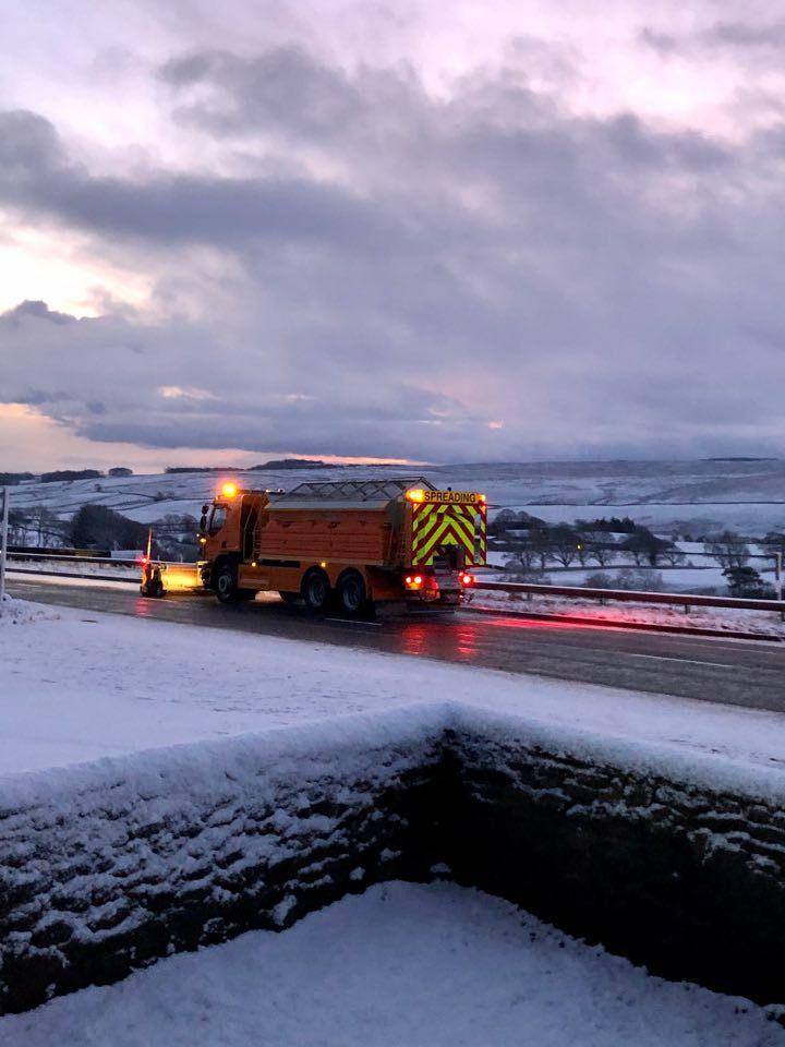 Snow And Ice For Cumbria Met Office Warns News And Star