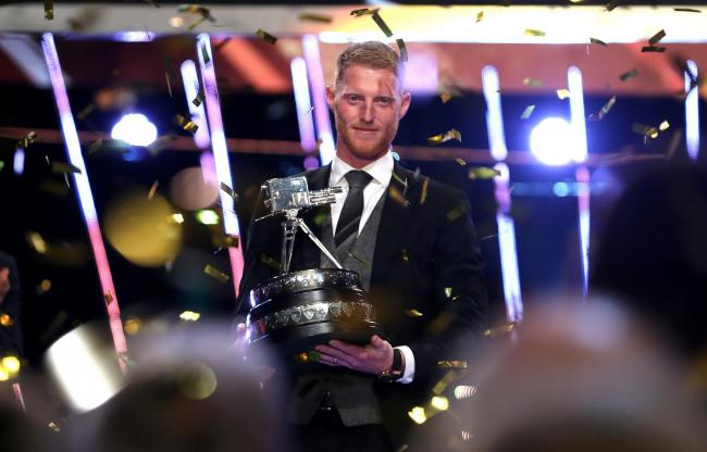 Ben Stokes with The BBC Sports Personality of the Year Award    Picture: Jane Barlow/PA Wire