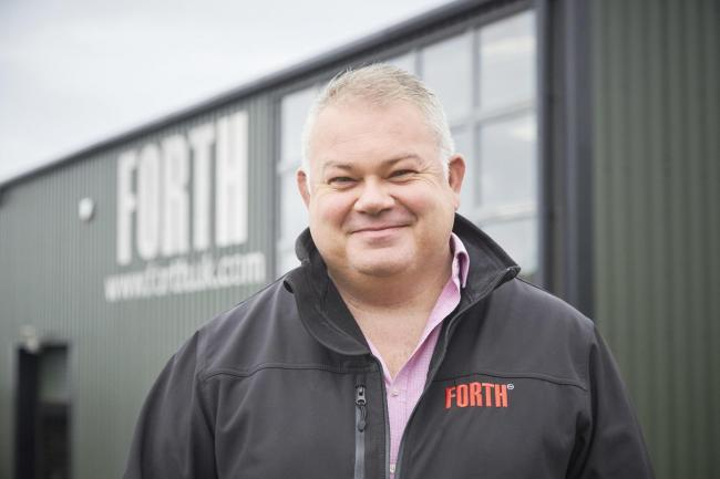 COLLABORATION: Mark Telford, of Forth Engineering