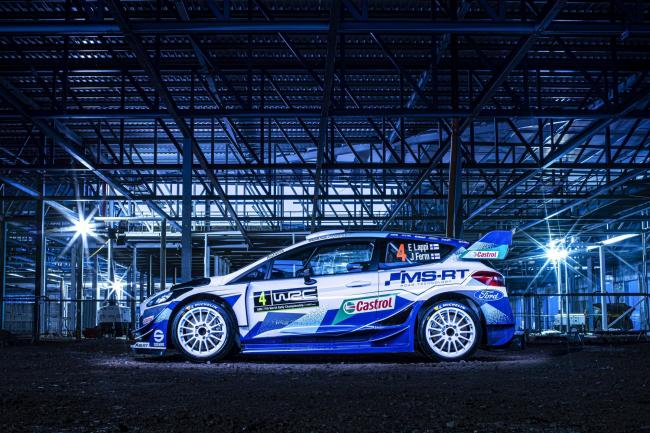 Great look: Eye-catching creation from M-Sport graphic designer Phil Dixon. The images were taken in the framework of the M-Sport Evaluation Centre at Dovenby Hall             Drew Gibson