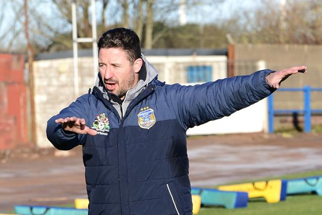 BUSY: Head coach Chris Thorman is preparing for the derby while looking at potential signings	 GARY MCKEATING