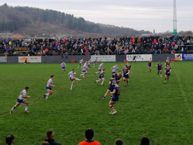 Whitehaven v Workington Town - Ike Southward Memorial Trophy at Recre