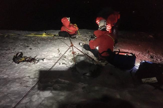 Incident Number: 02Location: BlencathraCallout Date: Sunday 19th January 2020Callout Time: 16:05Agencies Involved: Keswick MRT, RAF Leeming. Picture: Keswick MRT
