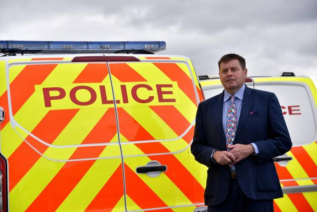 Cumbria Police and Crime Commissioner Peter McCall