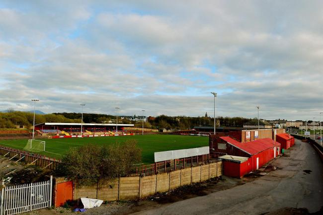 Home of Workington Reds football club, Borough Park..Pic Tom Kay        Wednesday 5th April 2017 50087633T000.JPG.