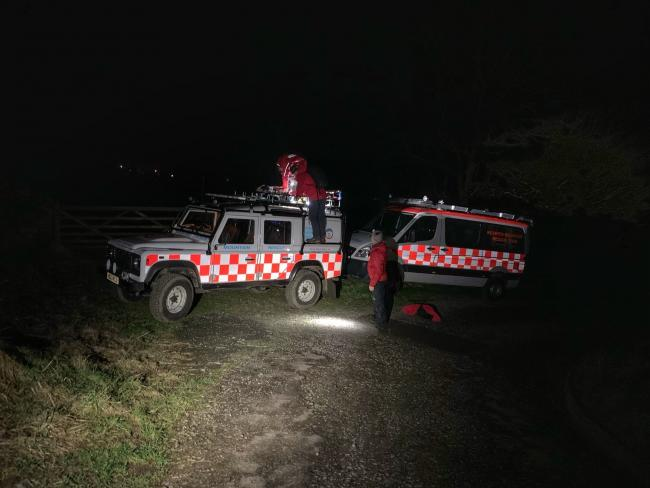 Keswick Mountain Rescue Team were called out to help a boy, 11, who got a soaking on the fells. Picture: Keswick MRT