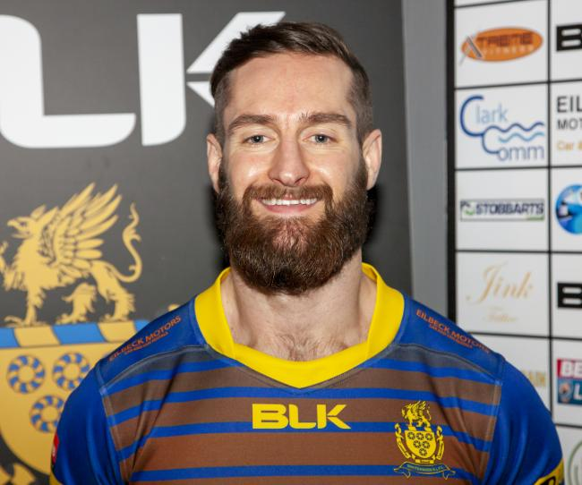 Timely return: Brett Carter is in line to get his first start of the season for Whitehaven