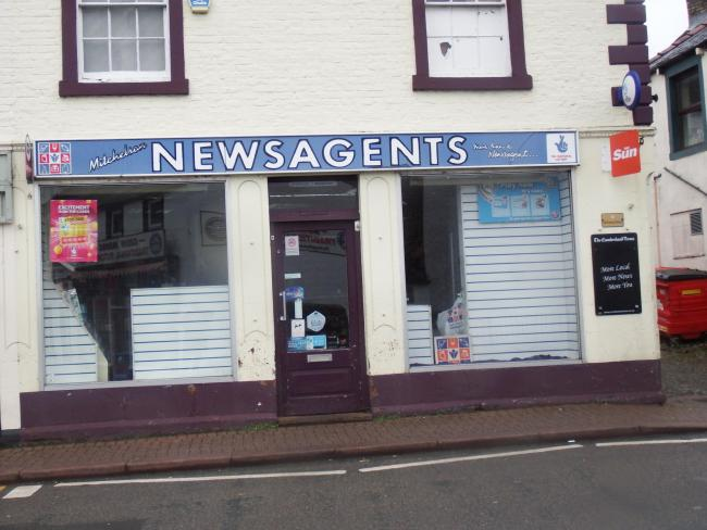 Mitchelson Newsagents has been a feature of Brampton for more than 45 years but now it has merged with the sister business on front street  Photo: Paul Grindley