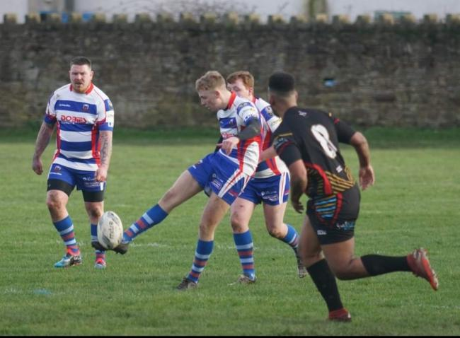 Ellenborough Rangers against Almondbury Spartans in last year's BARLA National Cup. Picture: David Tuck