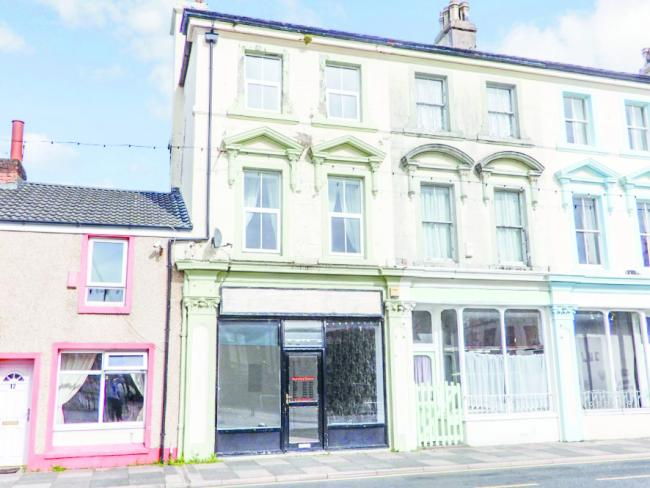 The property in Cleator Moor will go to auction with a 'nil' reserve