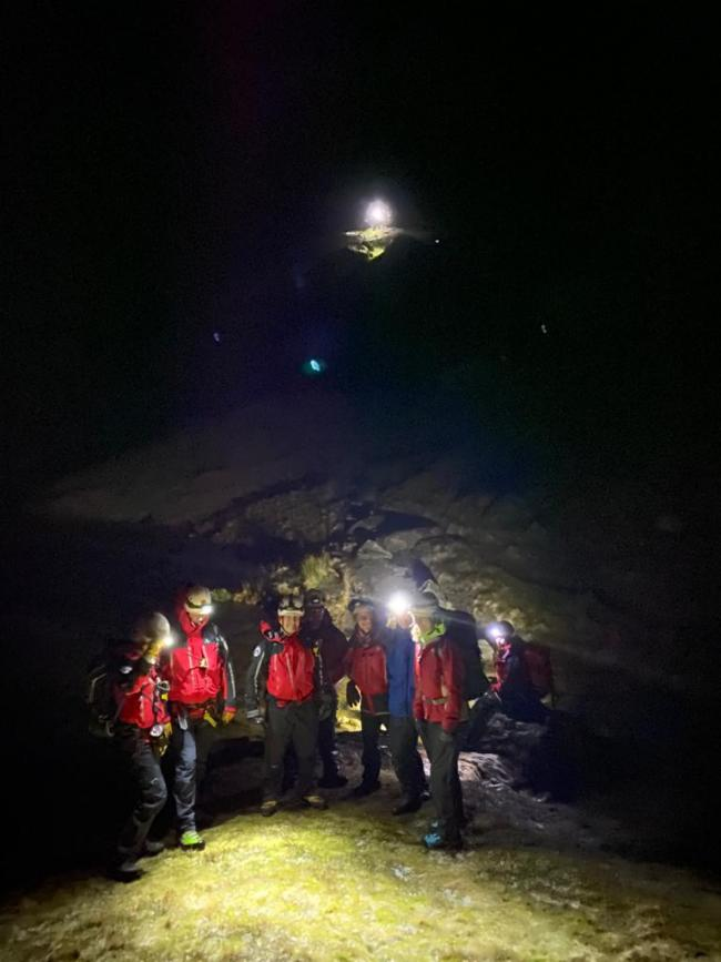 Penrith Mountain Rescue Team were called out to three rescues in 24 hours on February 15 and 16, 2020
