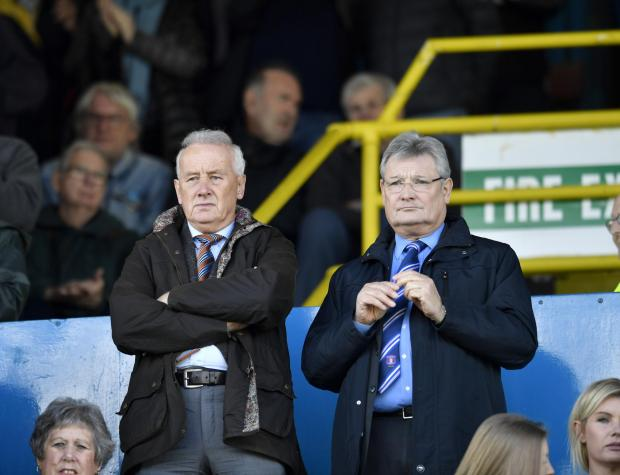 News and Star: Rick Parry, left, with United's John Nixon (photo: Stuart Walker)