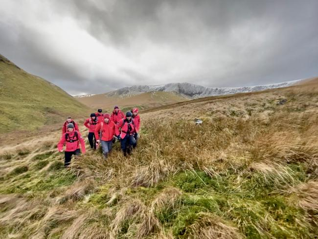Keswick Mountain Rescue Team were called out to Souther Fell. Picture: Keswick MRT