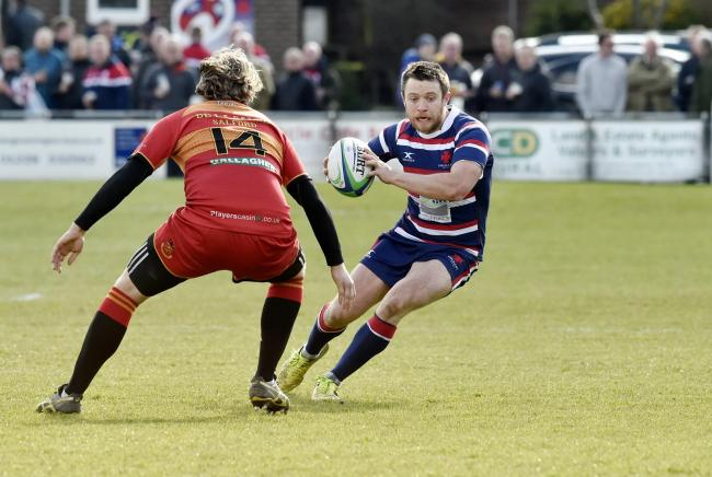 Max Connon converted all three of Carlisle's tries against Wirral. Picture: David Hollins