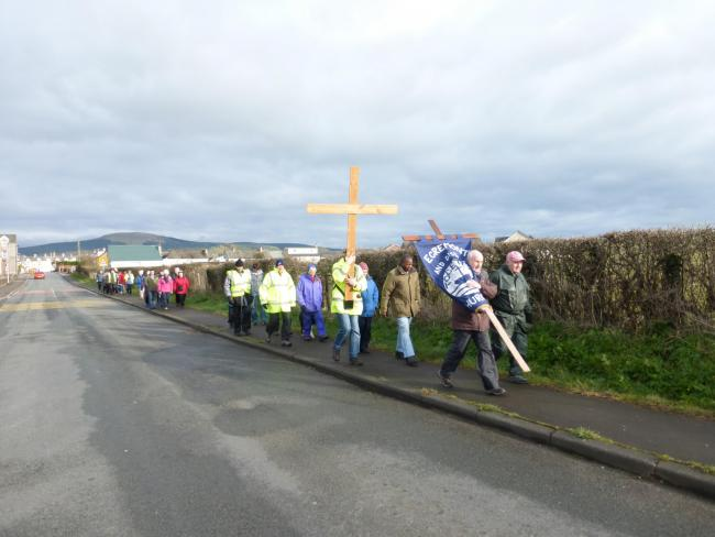 Churches together walk will not take place this year
