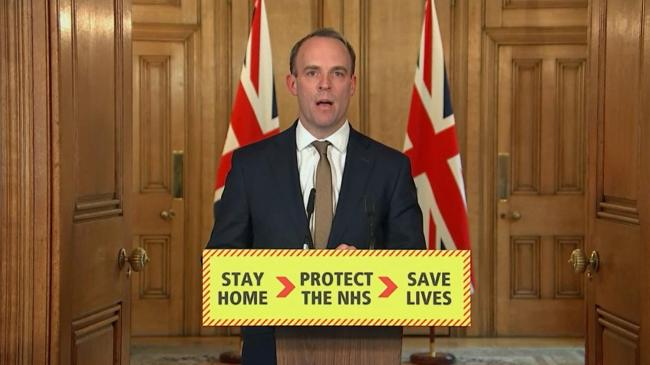 Dominic Raab de factor Prime Minister of the United Kingdom
