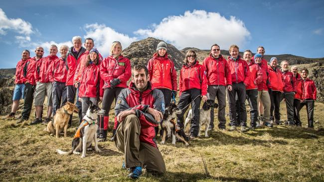 LAKELAND HEROES: Rescuers – like the Coniston Mountain Rescue Team pictured here before the pandemic struck – appreciate people heeding advice