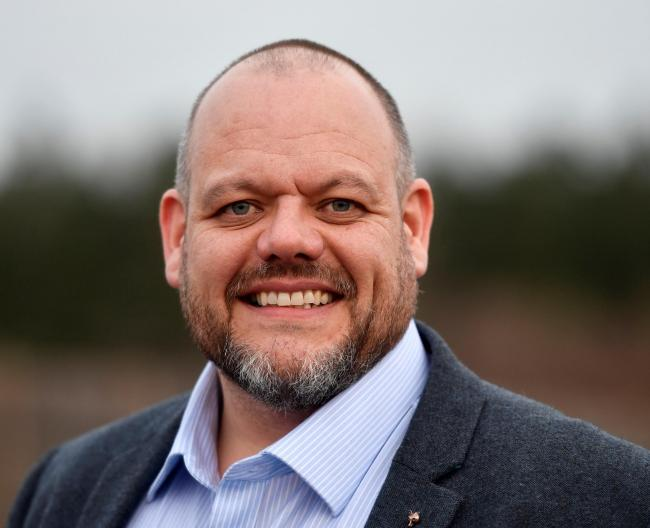 Mark Jenkinson the Labour Party candidate for the Workington constituencey: 20 November 2019..STUART WALKER.