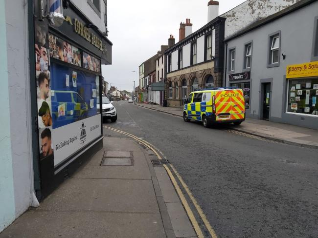 Last month a member of staff at Corner Barber on High Street, Wigton, and customer were fined for breaching lockdown rules