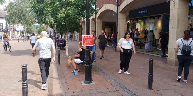 Shoppers returned to Carlisle city centre as non-essential retailers reopened on June 15, 2020 Pictures: Jacob Colley