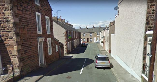Police are investigating an incident of criminal damage in Boyd Street, Maryport. Photo: Google.