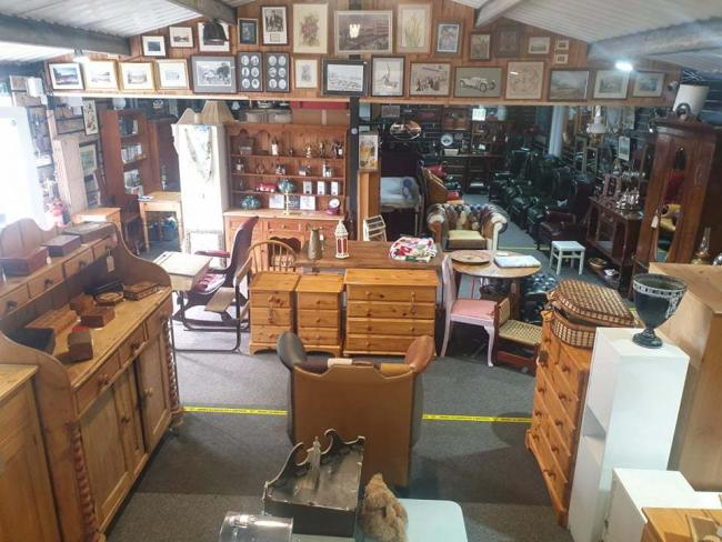 NEW HOME: Spotty Dawgs Antique and Used Furniture Shop has moved from Brampton to Harker
