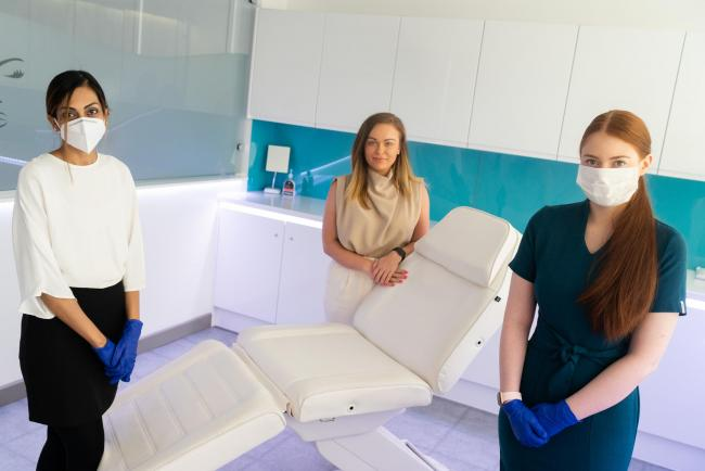 Opening: VL Aesthetics getting ready to re-open – with reduced treatments
