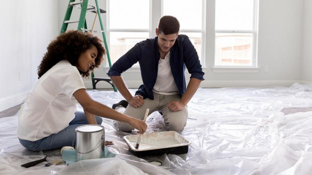 News and Star: Prepping your workspace with a drop cloth or plastic covering is a key part of the process. Credit: Getty Images / SDI Productions