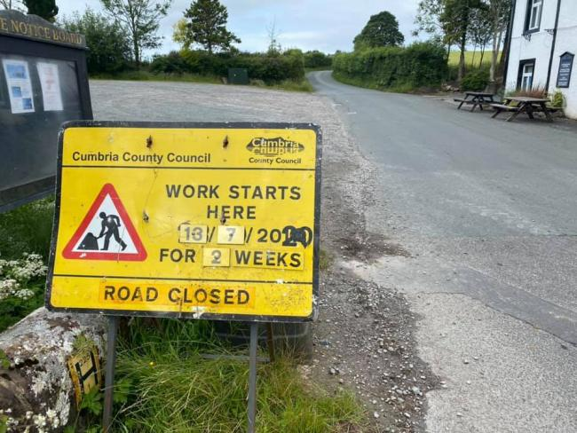 A road is due to be closed for roadworks, causing upset among residents who fear for business owner's livelihoods 	       Picture: Gareth Bucknall