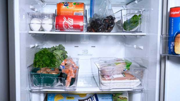 News and Star: Use an organising set to create more storage zones in your fridge. Credit: Reviewed / Betsey Goldwasser
