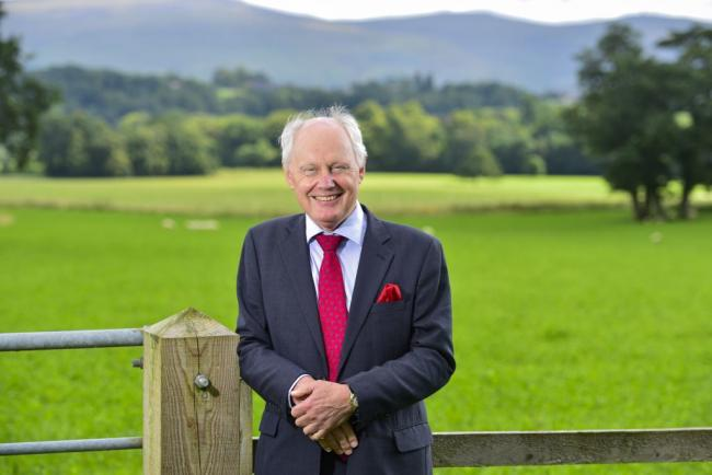 Boost: Colin Tomlinson, managing director of H&H Land & Estates which has branches all across Cumbria, believes the new tax break should make a 'noticeable difference'