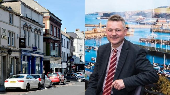 "LOCAL FIRST: Copeland Council, Mike Starkie (pictured) and Newsquest Cumbria has partnered on the ""Shop Local: Keep it in Copeland"" campaign"