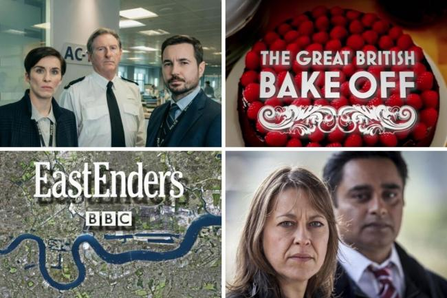 This is when some of your favourite shows will be back on TV. Pictures: BBC/ITV/Channel 4